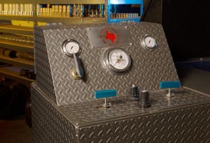 Texas Rubber Group's In-house High-pressure Hydro-static Tester